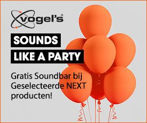 Vogel's soundbar actie Plasmavisie